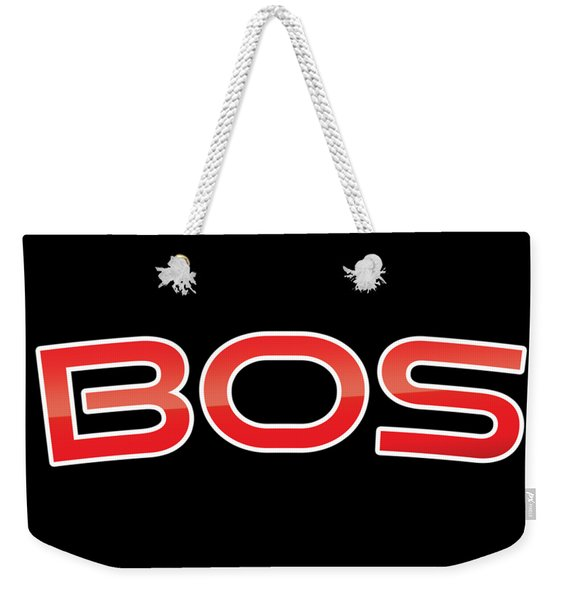 Bos Weekender Tote Bag
