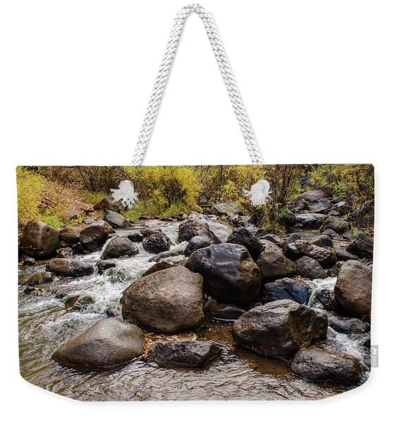 Boulders In Creek Weekender Tote Bag