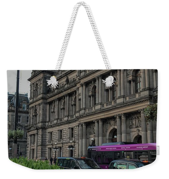 Bound For The Chambers Weekender Tote Bag