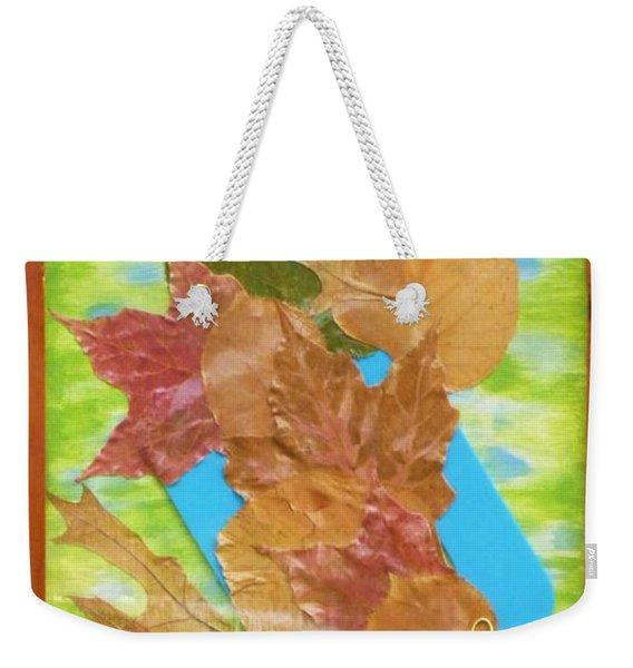 Bouquet From Fallen Leaves Weekender Tote Bag