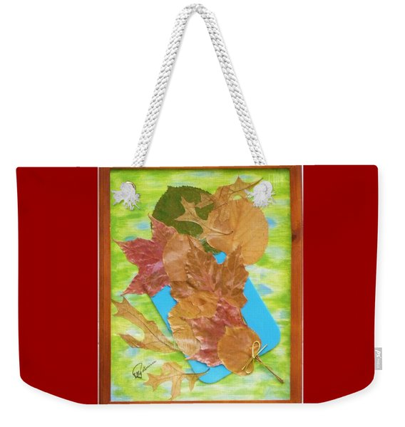 Bouquet From Fallen Leaves Weekender Tote Bag