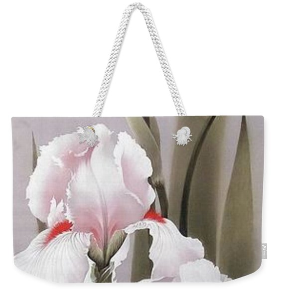 Bouquet Of White Irises Weekender Tote Bag
