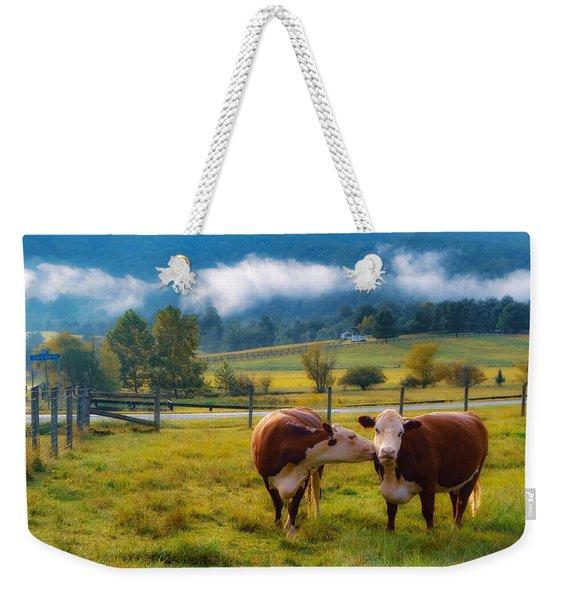 Bovine Love Weekender Tote Bag