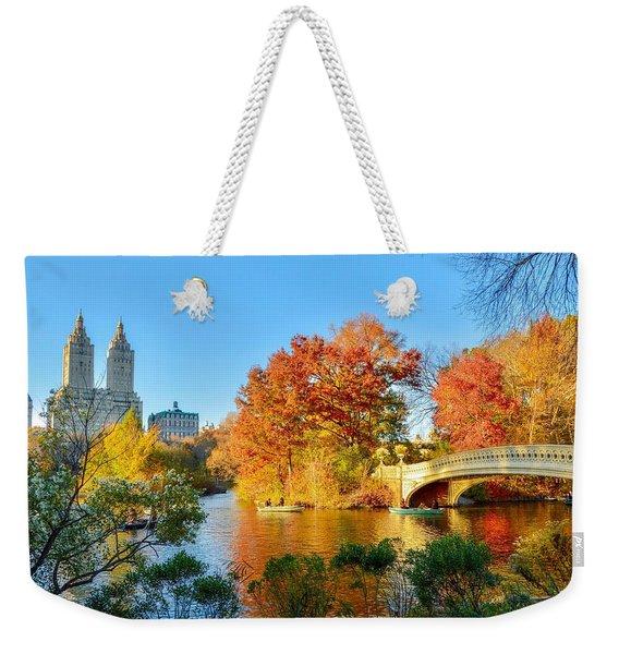 Bow Bridge Weekender Tote Bag