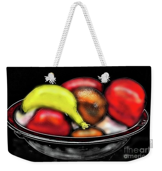 Bowl Of Fruit Weekender Tote Bag