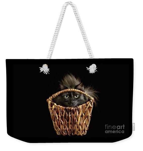 Boyfriend In A Basket Weekender Tote Bag
