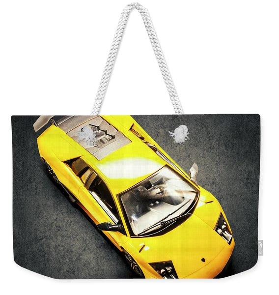 Boys Toys Weekender Tote Bag
