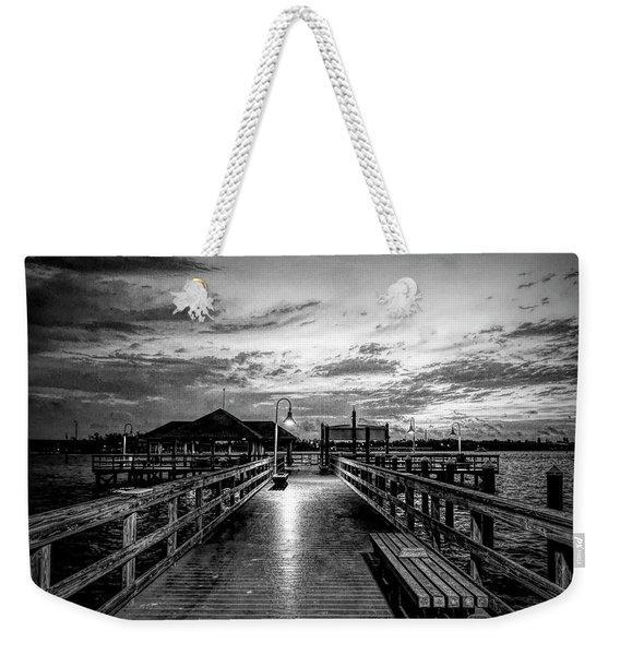 Bradenton Beach City Pier Weekender Tote Bag