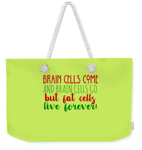 Brain Cells Weekender Tote Bag