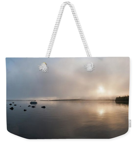 Branch Lake - Ellsworth Maine Weekender Tote Bag