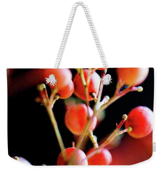 Brazilian Pepper 0423 Weekender Tote Bag
