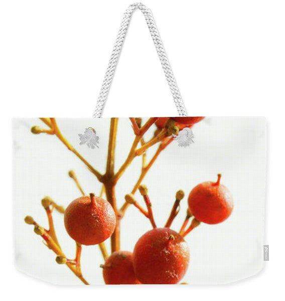 Brazilian Pepper 0482 Weekender Tote Bag