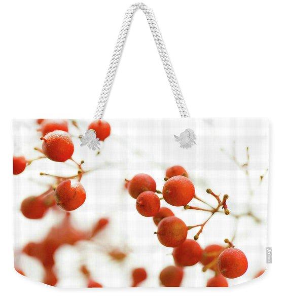 Brazilian Pepper 0493 Weekender Tote Bag