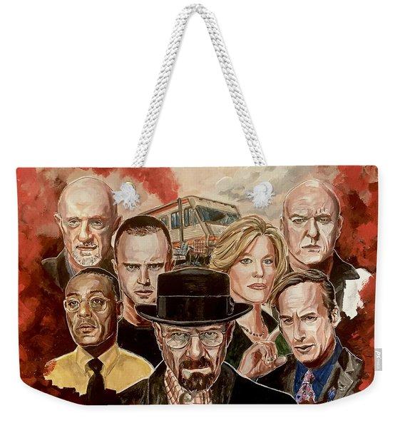 Breaking Bad Family Portrait Weekender Tote Bag