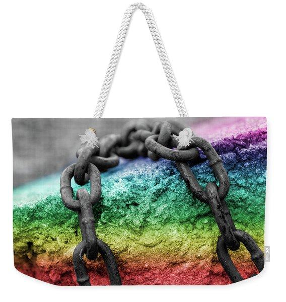 Breaking The Chains Weekender Tote Bag