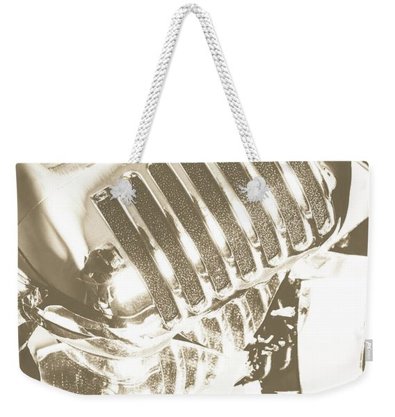 Breaking The Set Weekender Tote Bag
