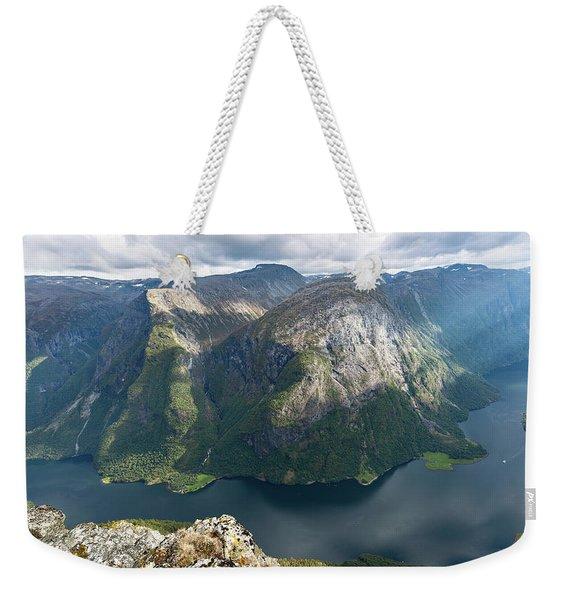 Breiskrednosie, Norway Weekender Tote Bag