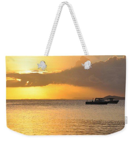 Brewers Bay Sundown Weekender Tote Bag