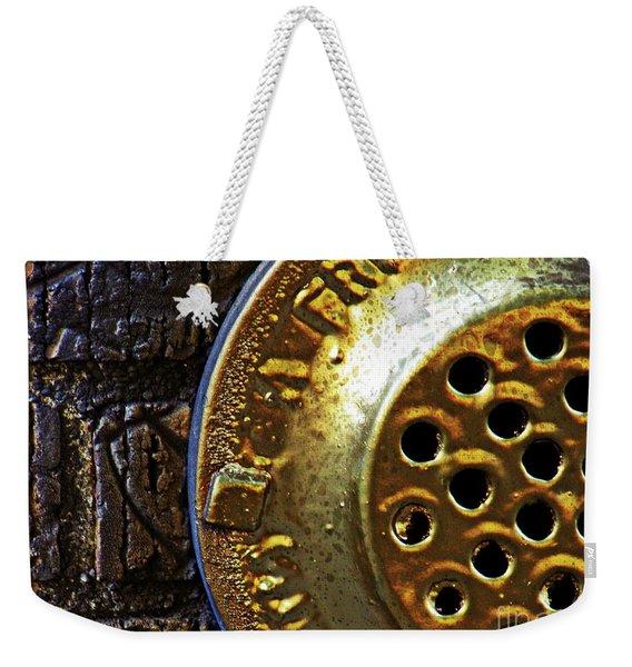 Brick And Gold 2     Weekender Tote Bag