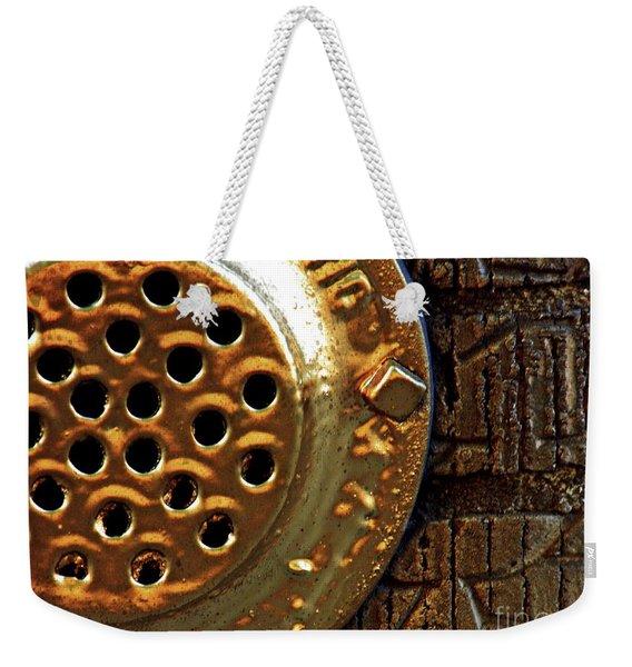 Brick And Gold 3 Weekender Tote Bag
