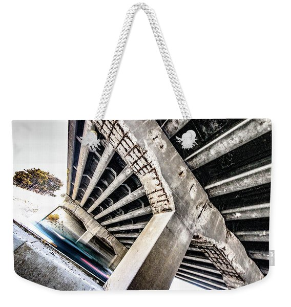 071 - Bridge Failing Weekender Tote Bag