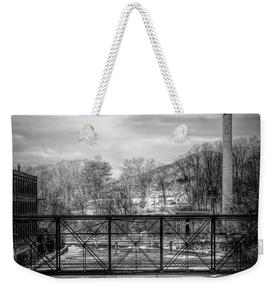 Bridge Over The Sugar River Weekender Tote Bag