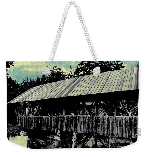 Bridge V Weekender Tote Bag