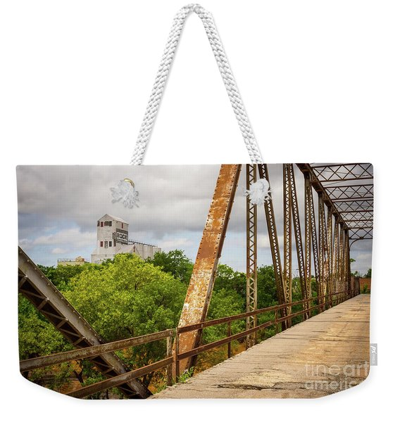 Bridging The Past Weekender Tote Bag