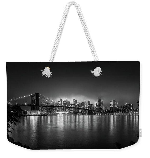 Bright Lights Of New York Weekender Tote Bag