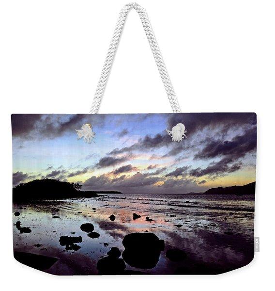 Bright Mirror Of Sunset Light Weekender Tote Bag