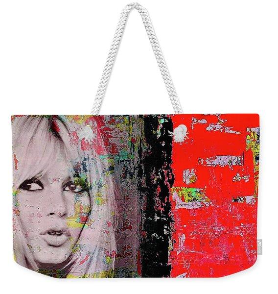Brigitte Bardot Weekender Tote Bag
