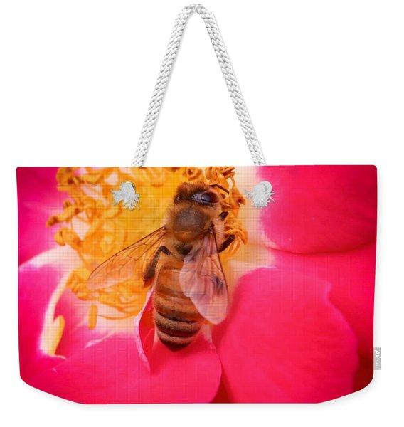 Brilliant Bee Weekender Tote Bag