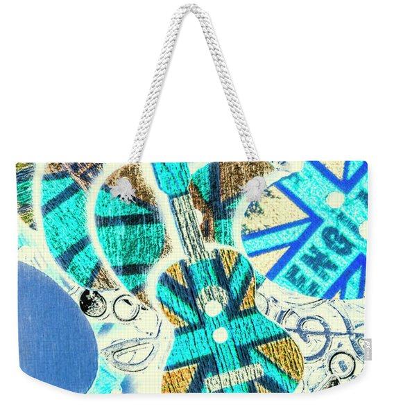 Britain Blues Weekender Tote Bag