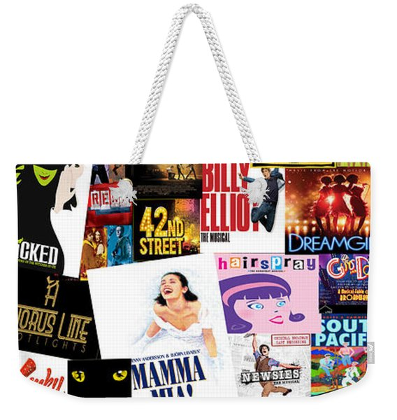 Broadway 22 Weekender Tote Bag