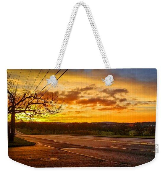 Broadway Sunrise Weekender Tote Bag