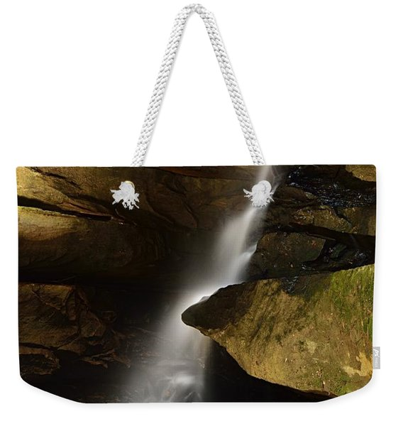 Broken Rock Falls Weekender Tote Bag