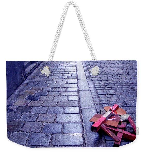 Broken Sign Weekender Tote Bag