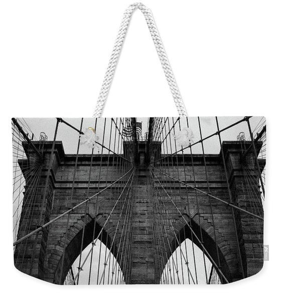 Brooklyn Bridge Wall Art Weekender Tote Bag