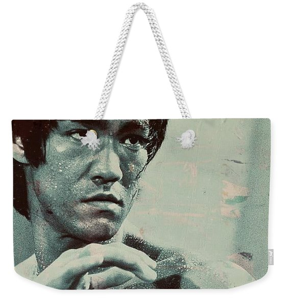Bruce Lee Weekender Tote Bag