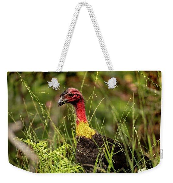 Brush Turkey Weekender Tote Bag