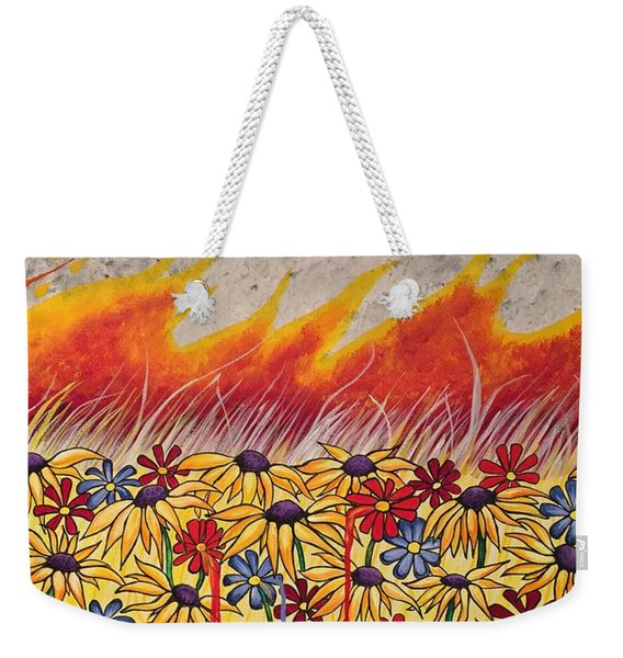 Brushfire Weekender Tote Bag