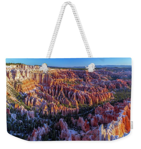 Bryce Canyon Np - Sunrise On Another World Weekender Tote Bag