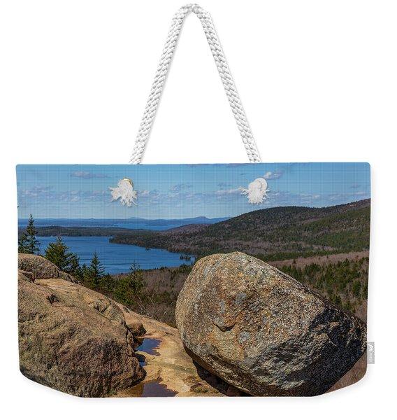 Acadia Np - Bubble Rock Weekender Tote Bag