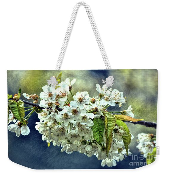 Budding Blossoms Weekender Tote Bag