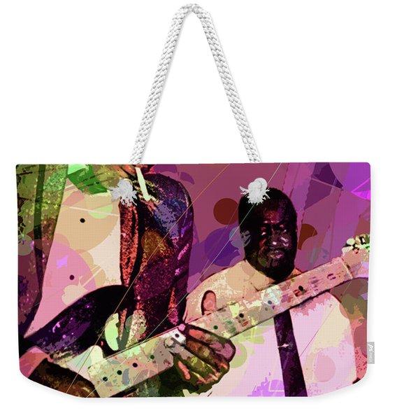 Buddy Guy 1965 Weekender Tote Bag