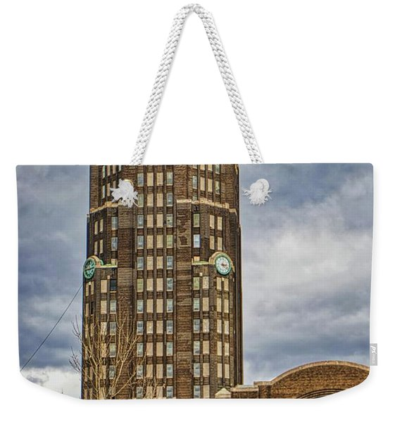 Buffalo Central Terminal Buffalo Ny. Weekender Tote Bag