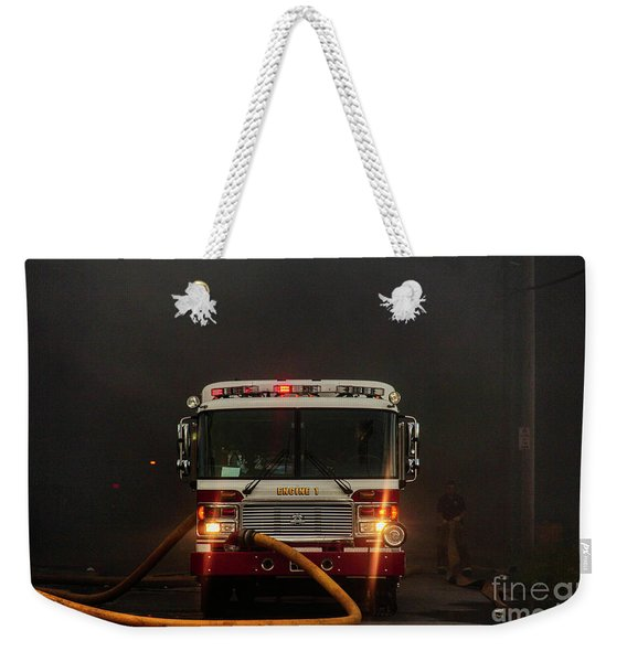 Buffalo Fire Dept Engine 1 Weekender Tote Bag