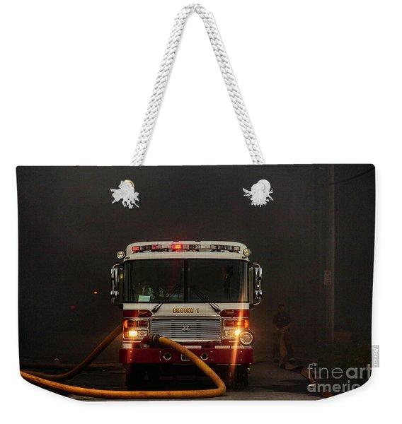 Buffalo Fire Dept Engine 1 Weekender Tote Bag