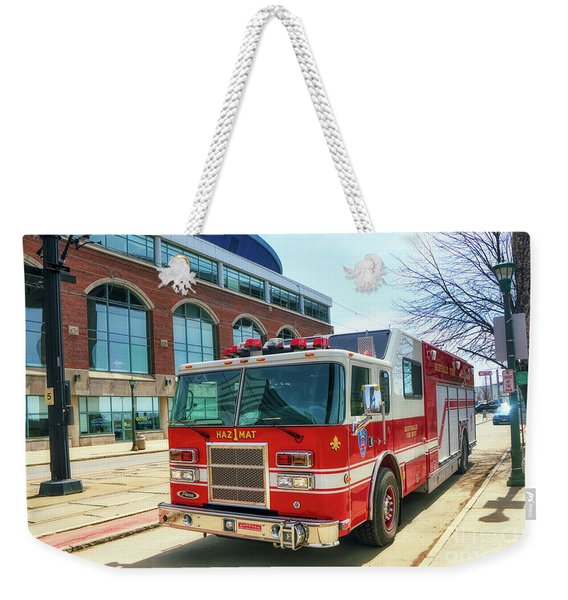 Buffalo Fire Dept Haz1mat Weekender Tote Bag