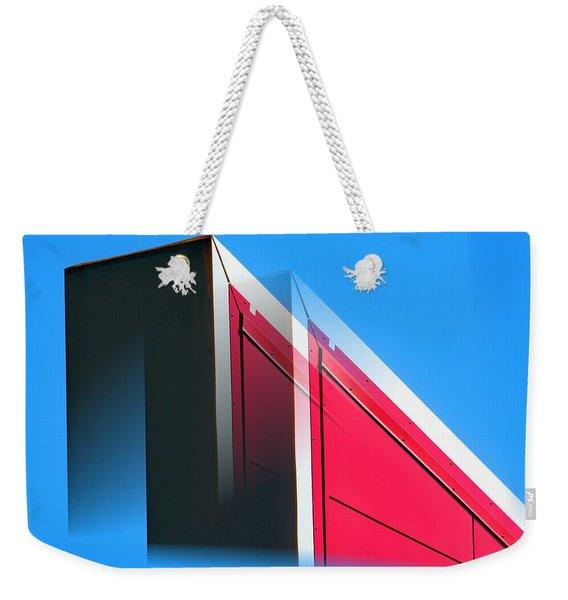 Building Abstract Weekender Tote Bag